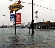 Image of flooded streets