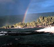 Image of Hawaiian coast