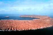 Photograph of one of the Galapagos Islands