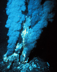Photgraph of a geothermal vent