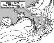 Graphic depicting SST utilizing isobars