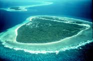 Image of a Pacific atoll