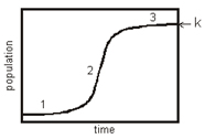 Graphic of sigmoid curve
