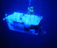 Image of three-person submersible Alvin