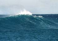 Image of an ocean swell